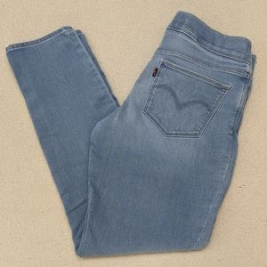 Levi's Maternity Jeans Skinny Light Wash Women 10
